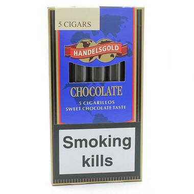 Handelsgold Chocolate Cigarillo Single Gq Tobaccos