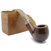 Molina - Horn Small Bent Apple (Brown)