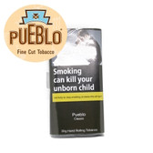 Pueblo Classic 100% additive free Hand Rolling Tobacco. This traditional blend of American Virginia tobaccos from GQ Tobaccos, is grown under all natural conditions by American Indians.