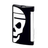 S.T. Dupont Minijet Matt Black with White Skull Lighter