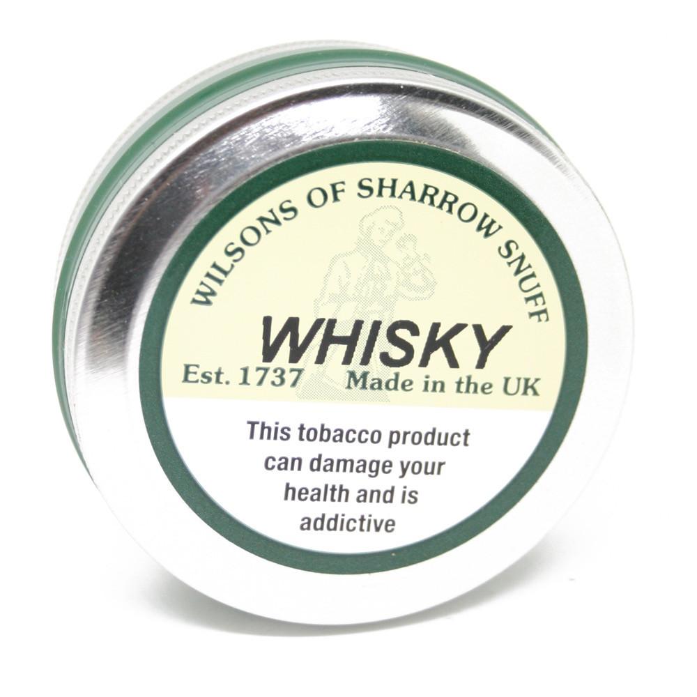 Wilsons of Sharrow Snuff - Whisky - 25g - Large Tin