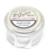 McChrystal's  - Vintage Velvet (Violet) -  Snuff - Mini 3.5g Tin