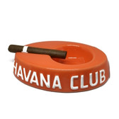 Havana Club Collection Orange Cigar Ashtray Egoista Ceramic Ashtray