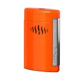 S.T. Dupont Minijet - Chrome & Coral Orange - Lighter