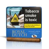 Ritmeester - Royal Dutch - Minatures Blue - Tin of 10 Cigars