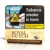 Ritmeester - Royal Dutch - Minatures - Tin of 10 Cigars