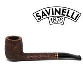 Savinelli - Venere  Brownblasted - 812 - 6mm - Canadian