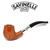Savinelli - Natural  Spigot - 601 - 6mm Balsa - Bulldog