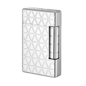S.T. Dupont - Briquet  Initial - White Bronze Finish - Fire Head