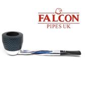 Falcon - Shillelagh (Polished/ Blue) with Carbon Fibre Blue Dover Bowl