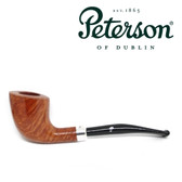 Peterson - D6 -  Classic Slim Line - Silver Band - Natural Finish