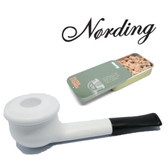 Erik Nørding - Shorty Pipe - White