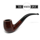 Alfred Dunhill - Amber Root - 4 102 - Group 4 - Bent - White Spot