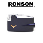 Ronson - Metallic Blue -  Mini Varaflame Lighter