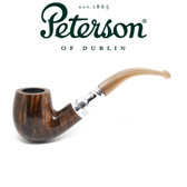 Peterson - 69 Flame Grain Silver Spigot (Champagne Mouthpiece)