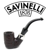 Savinelli - Dry System 620 Rusticated  (6mm Filter) Freestanding