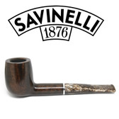 Savinelli - Marron Glace Brown 128 Smooth  (6mm Filter)