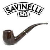 Savinelli - Marron Glace Brown 602 Smooth  (6mm Filter)