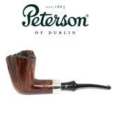 Peterson - Plato - Freehand - Kildare Colour  - Fishtail - Silver Band #2