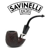 Savinelli - Dry System 614 Rustic  (6mm Filter)