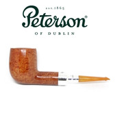 RARE - Peterson 106 - Natural Spigot with REAL Amber Stem