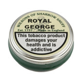 Wilsons of Sharrow Snuff - Royal George - 5g - Small Tin