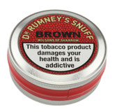 Wilsons of Sharrow Snuff - Dr. Rumney's Brown - 5g - Small Tin