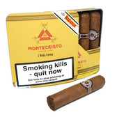 Montecristo -Media Corona - Slide Tin of 5 Cigars