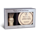 Taylor of Old Bond Street - Badger Brush & Sandalwood Shaving Cream Gift Set