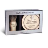 Taylor of Old Bond Street - Badger Brush & Sandalwood Shaving Cream Gift Set