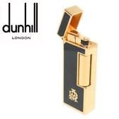 Dunhill - Rollagas AD Logo Black Lighter -  Classic Cigarette Flame RLP2401