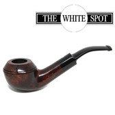 Alfred Dunhill - Amber Root - 4 20 - Group 4 - Bent Bulldog - White Spot