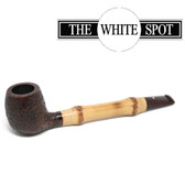 Alfred Dunhill - Cumberland - 4 101 - Bamboo Stem - Group 4  - White Spot