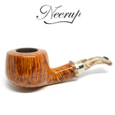 Neerup - Classic Series -  Gr 3 Bent Pot Pipe Flame Grain (Smooth)