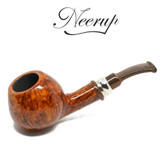 Neerup - Classic Series -  Gr 3 Semi Bent Apple Pipe  (Smooth)