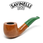 Savinelli - Mini Smooth Green Stem 601 - 6mm Filter