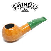 Savinelli - Mini Smooth Green Stem 321 - 6mm Filter