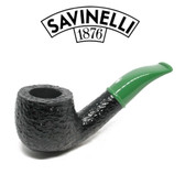 Savinelli - Mini Rustic Green Stem 601 - 6mm Filter
