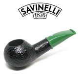 Savinelli - Mini Rustic Green Stem 321 - 6mm Filter