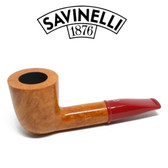 Savinelli - Mini Smooth Red Stem 409 - 6mm Filter
