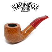 Savinelli - Mini Smooth Red Stem 601 - 6mm Filter