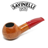Savinelli - Mini Smooth Red Stem 321 - 6mm Filter