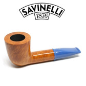 Savinelli - Mini Smooth Blue Stem 409 - 6mm Filter