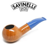 Savinelli - Mini Smooth Blue Stem 321 - 6mm Filter
