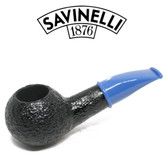 Savinelli - Mini Rustic Blue Stem 321 - 6mm Filter