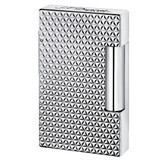 S.T. Dupont - Ligne 2 (Line 2) - Full Fire head Palladium Finish Lighter