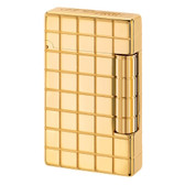 S.T. Dupont - Initial - Grid Square Golden Bronze Lighter