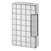 S.T. Dupont - Initial - Grid Square White Bronze Lighter