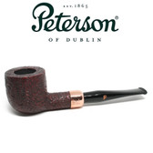 Peterson - Christmas Pipe 2018  -606 Sandblast Fishtail