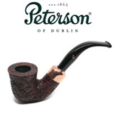 Peterson - Christmas Pipe 2018  -05 Sandblast Fishtail